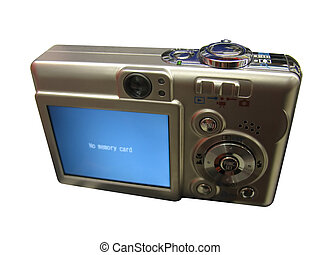 2 Clipping paths are included - -one for the border of the camera -the other is for the square LCD screen Easily select the area and insert any image of your choice on the LCD. This is a brand new Canon A520