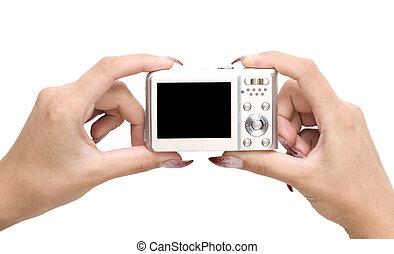 camera in a hands
