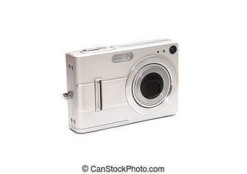 digital camera isolated on a white background