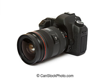 digital camera isolated on a white