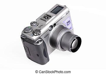 Digital Camera Isolated