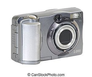 Digital Camera - Small 2 mega-pixel digital camera. Includes...