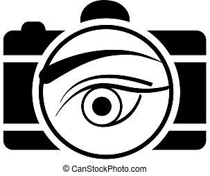 Digital Camera with an eye