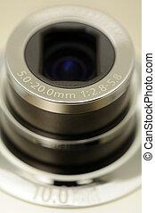 Digital camera zoom lens