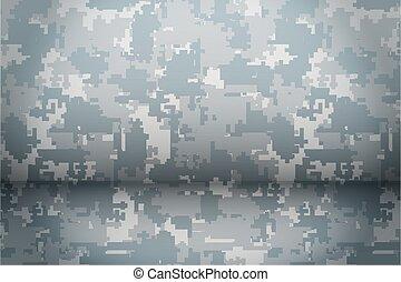 Digital Camouflage background
