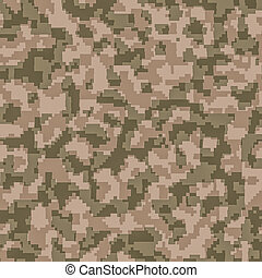 digital camouflage seamless background pattern