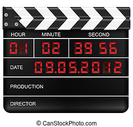 digital clapper board
