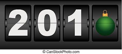 Digital clocks for new year