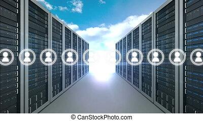 Digital communication in the server room