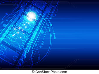 digital concept technology background