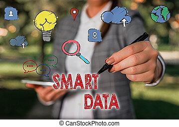 digital, concepto, data., más lejos, información, ...