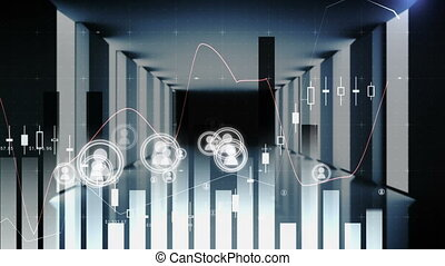 Digital connections in the stock market