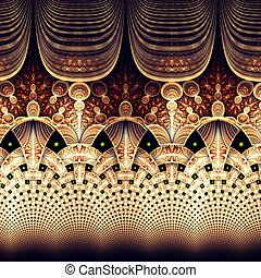digital, creativo, fractal, gráfico, ilustraciones, ...
