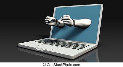 digital, crimen