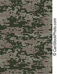 Digital dark green military camouflage texture background