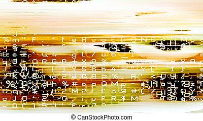 Digital Data Chaos 0237