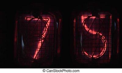Digital Display - digital display of the countdown