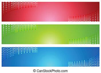Digital Dot Banners