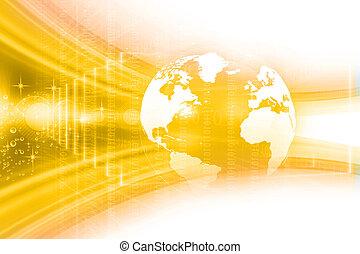 Digital Earth , globe