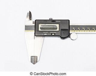digital electronic caliper isolated