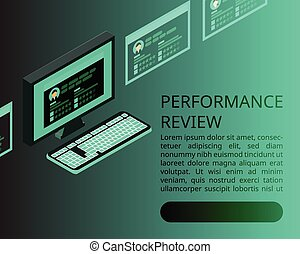 digital Employee performance review banner