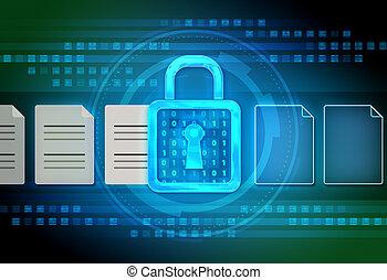 Digital file encryption