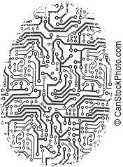 Digital fingerprint is a concept about the cyber criminality...