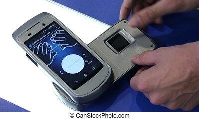 Digital fingerprinting scanner
