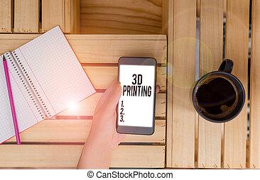 digital, foto, model., nota, showcasing, elaboración, ...