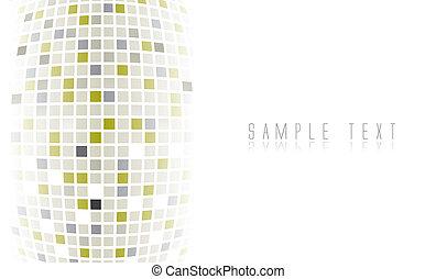 Digital futuristic background in editable vector format