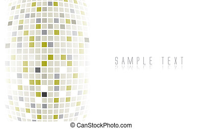 Digital futuristic background in editable vector format