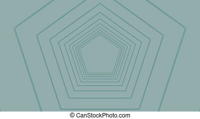 Digital generated video of concentric lines - Digital ...