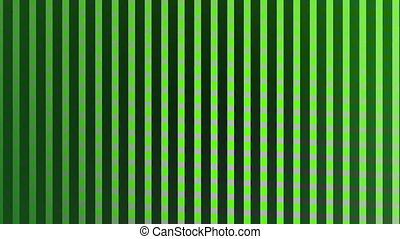 Digital generated video of striped and checkered pattern -...