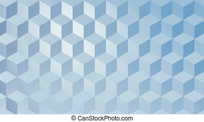 Digital generated video of various shape - Digital generated...