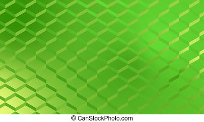 Digital generated video of wire mesh fence - Digital...