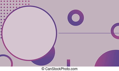 Digital generated videos of pattern and design - Digital...