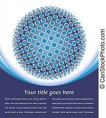 Digital globe.