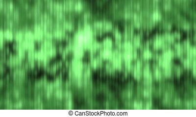 Digital Green Waterfall Loop