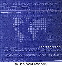 digital háttér