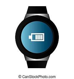 digital hand clock