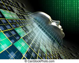 Digital head