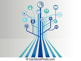 Digital healthcare and hospital - Digital health and...