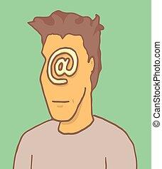 Digital identity anonymous self