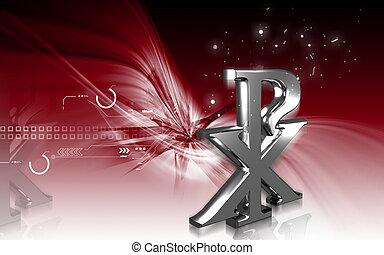 Religious Symbol - Digital illustration of a Religious ...