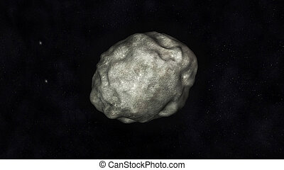 Asteroid - Digital Illustration of an Asteroid
