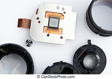 Digital image camera sensor