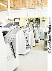 digital, impresión, máquinas