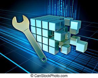 Digital information maintenance