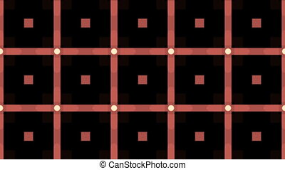 Digital kaleidoscope graphic