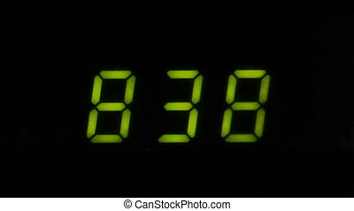 Digital led counter from eight